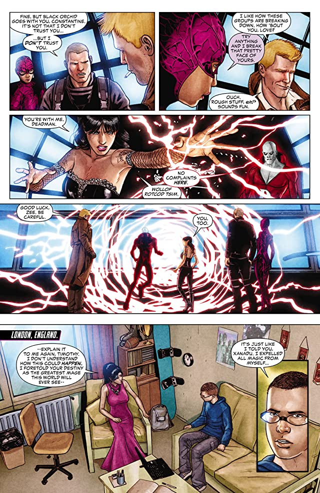 click for super-sized previews of Justice League Dark (2011-2015) #12