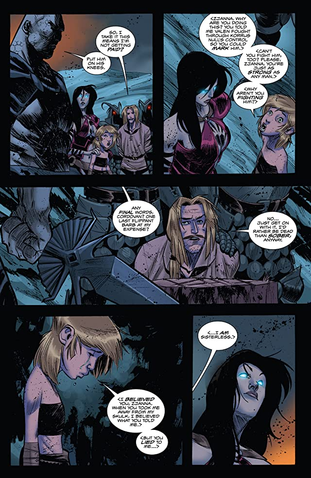 click for super-sized previews of Valen the Outcast #8