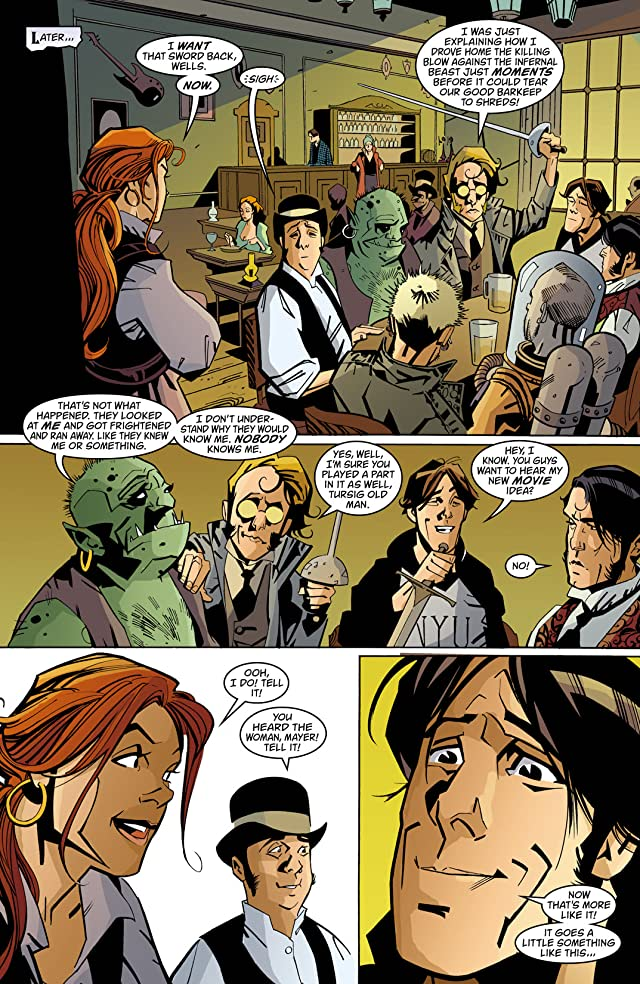 click for super-sized previews of House of Mystery (2008-2011) #15