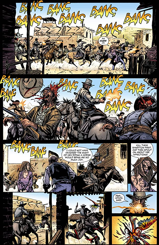 click for super-sized previews of Jonah Hex (2006-2011) #46