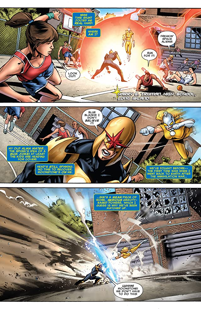 click for super-sized previews of Nova (2007-2010) #34
