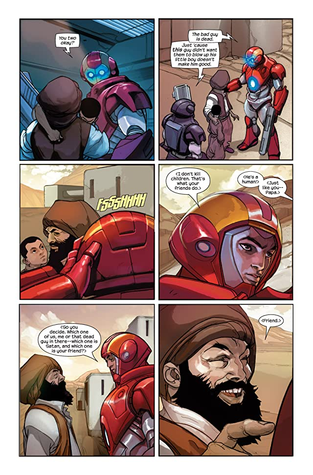 click for super-sized previews of Ultimate Iron Man II #2 (of 5)