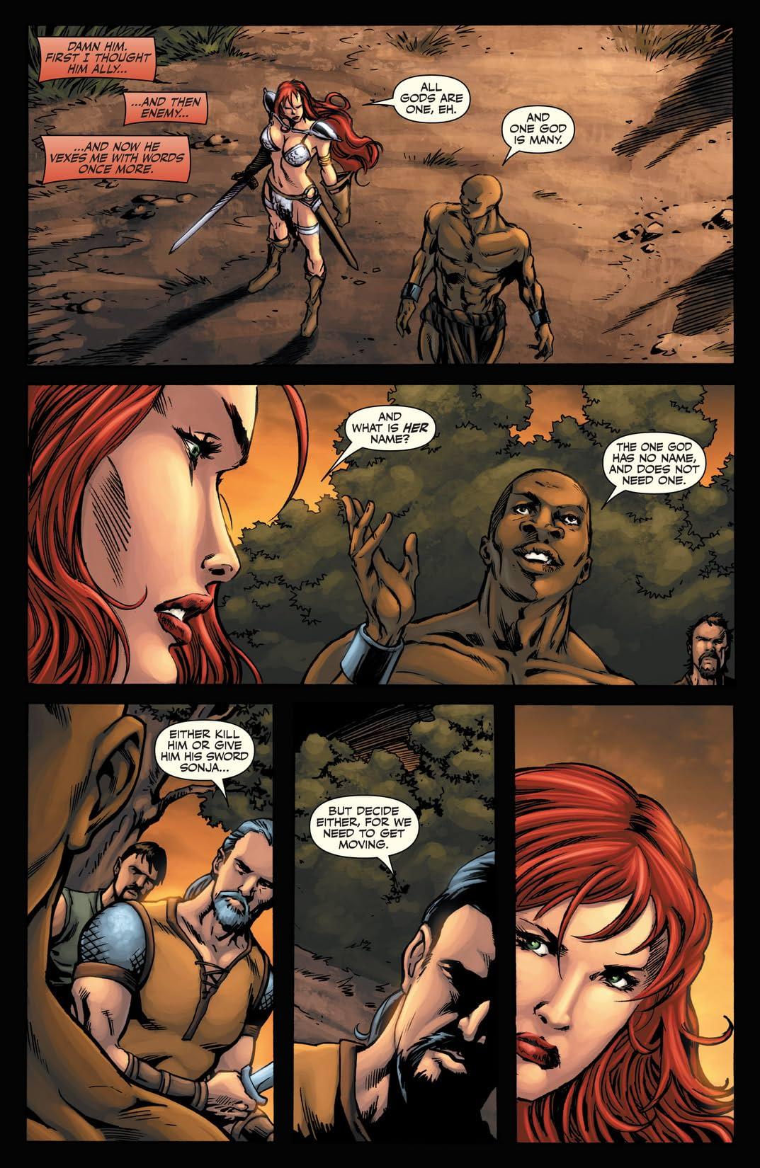 Red Sonja Vs. Thulsa Doom #3 (of 4)