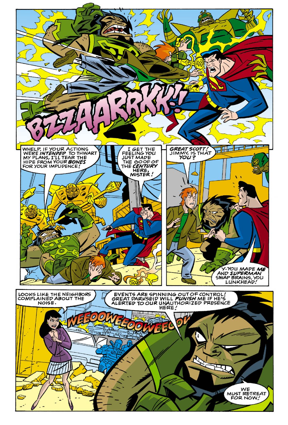 Superman Adventures (1996-2002) #28