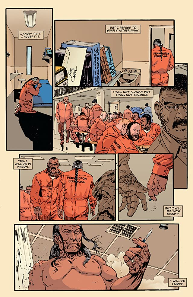 click for super-sized previews of Scalped #57