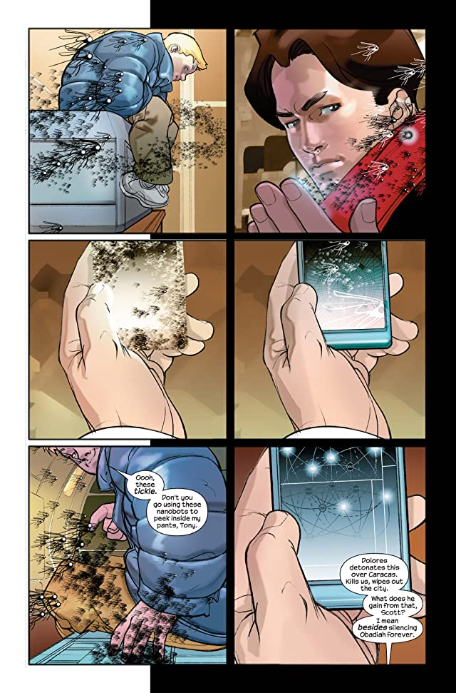 click for super-sized previews of Ultimate Iron Man II #4 (of 5)