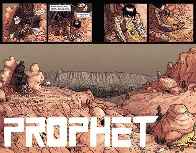 click for super-sized previews of Prophet Vol. 1: Remission