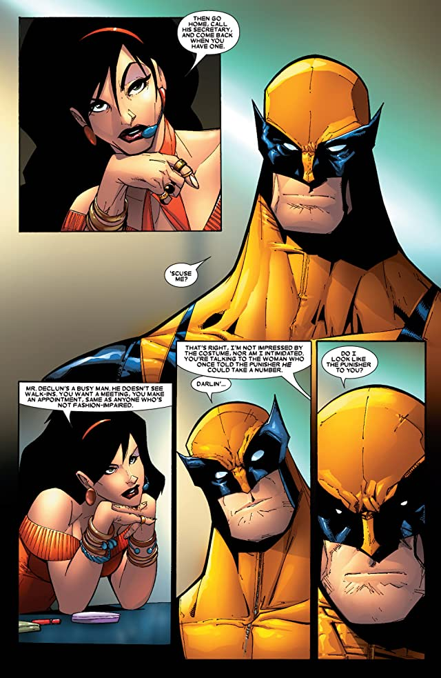 click for super-sized previews of Wolverine (2003-2009) #46