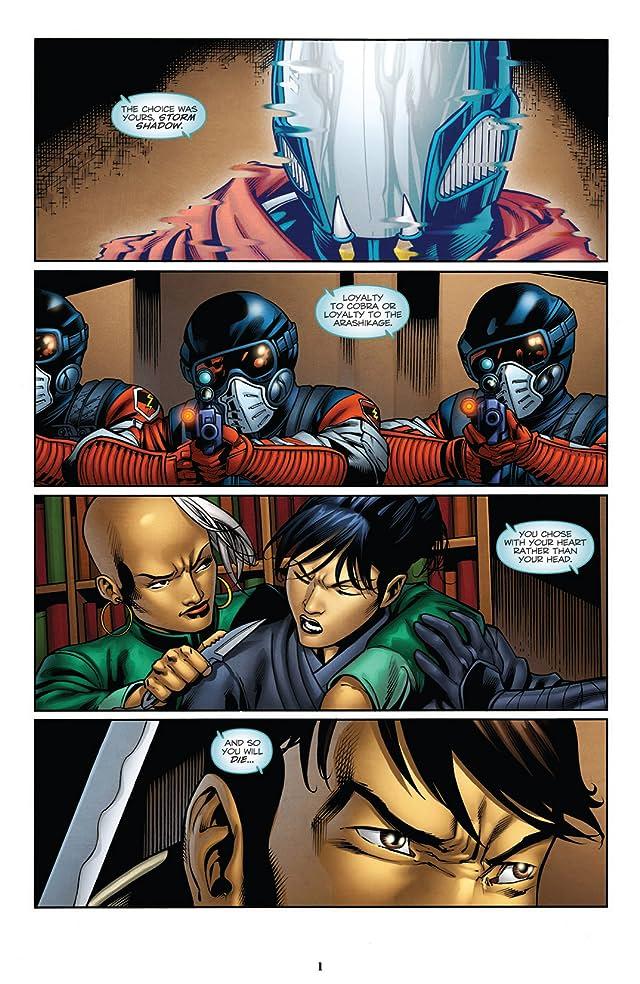 click for super-sized previews of G.I. Joe: Snake Eyes (2011-2013) #16