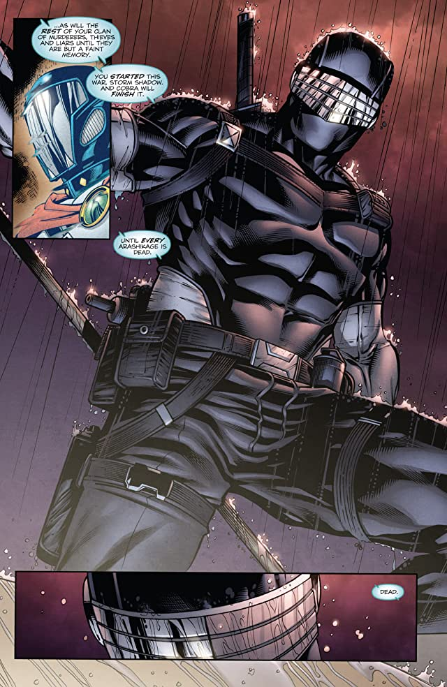 click for super-sized previews of G.I. Joe: Snake Eyes (2011-2013) #16