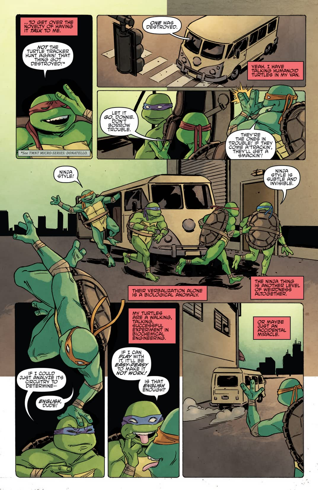 Teenage Mutant Ninja Turtles Micro Series #7: April