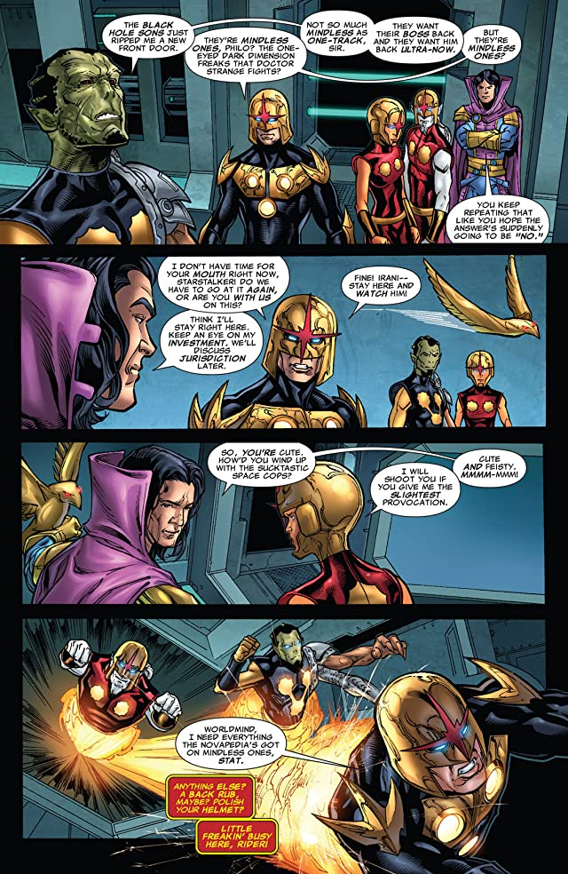 click for super-sized previews of Nova (2007-2010) #30