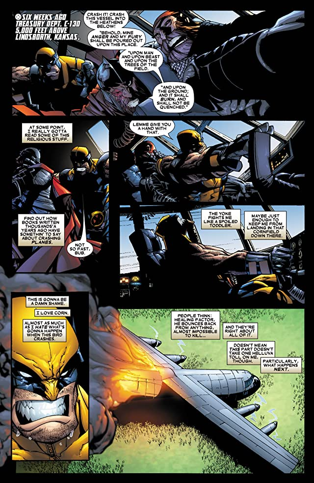 click for super-sized previews of Wolverine (2003-2009) #48