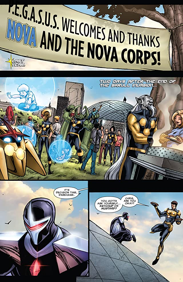 click for super-sized previews of Nova (2007-2010) #31