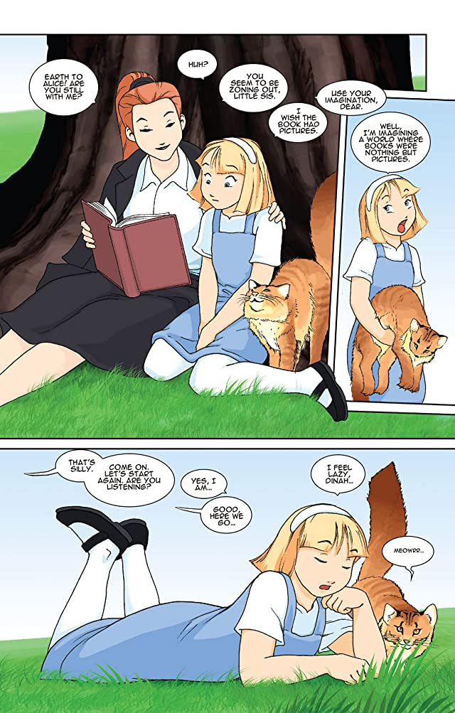 click for super-sized previews of New Alice In Wonderland #1
