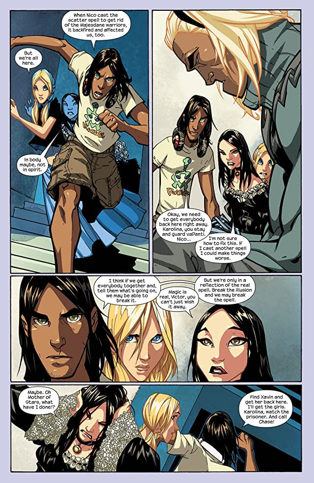click for super-sized previews of Runaways (2008-2009) #4