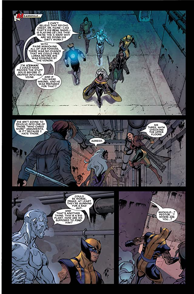 click for super-sized previews of Black Panther (2005-2008) #9