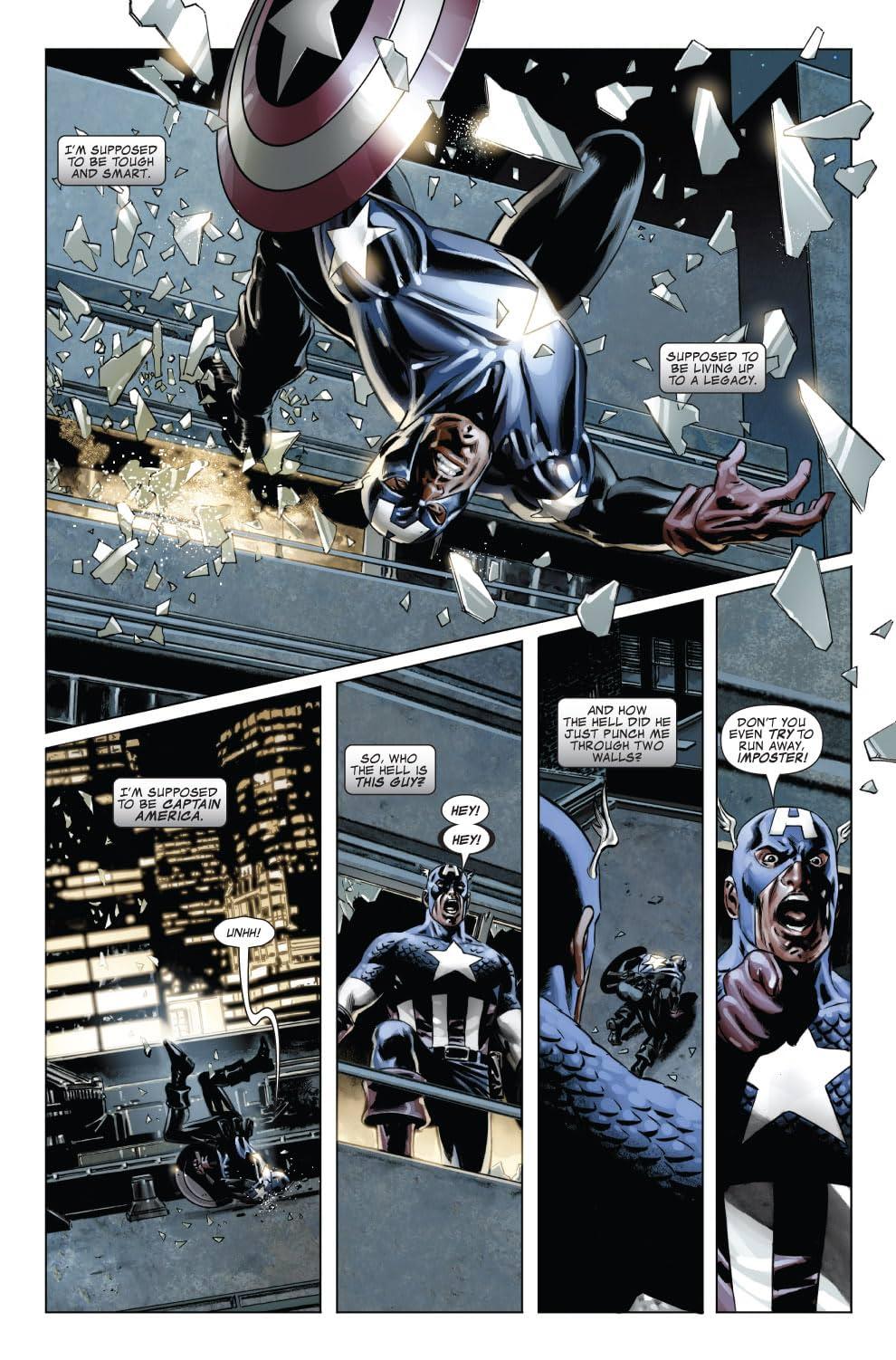 Captain America (2004-2011) #40