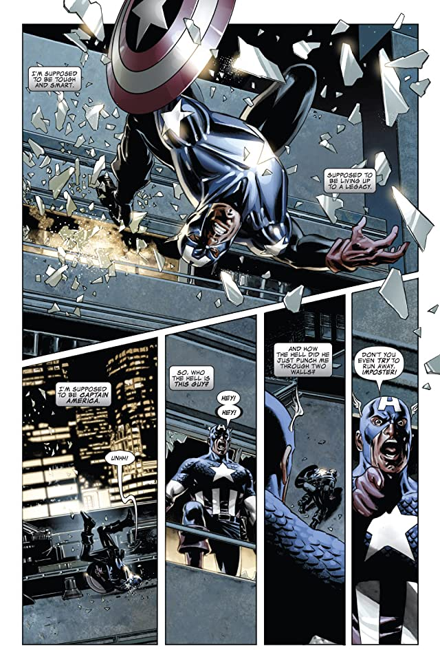 click for super-sized previews of Captain America (2004-2011) #40