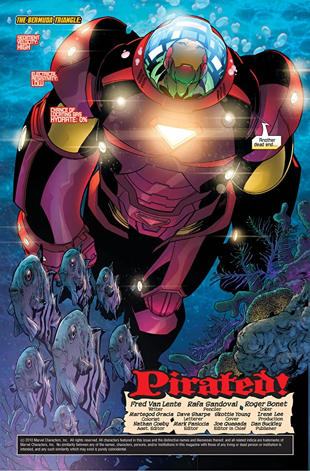 click for super-sized previews of Marvel Adventures Iron Man #5