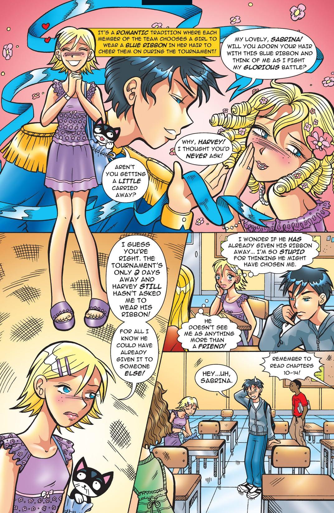 Sabrina Manga #2