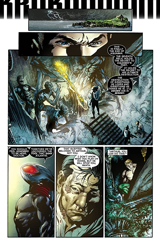 click for super-sized previews of Aquaman (2011-) #12
