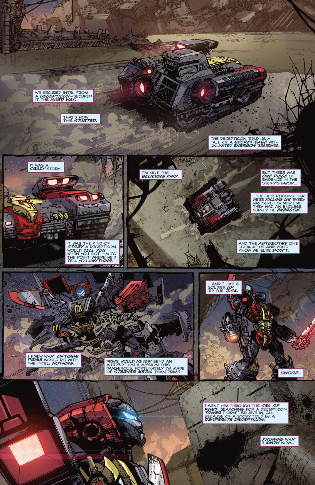 Transformers: Fall of Cybertron #2 (of 6)