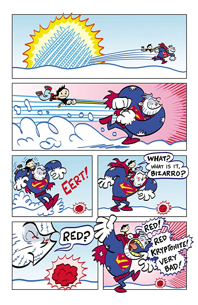click for super-sized previews of Superman Family Adventures #4