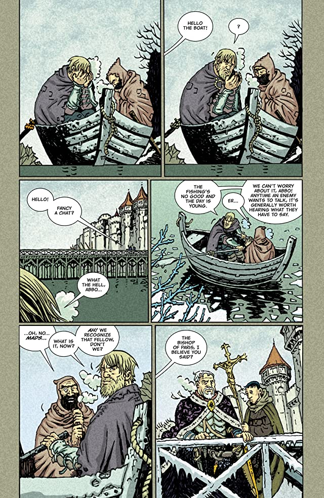 click for super-sized previews of Northlanders #38