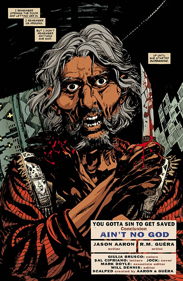 click for super-sized previews of Scalped #49