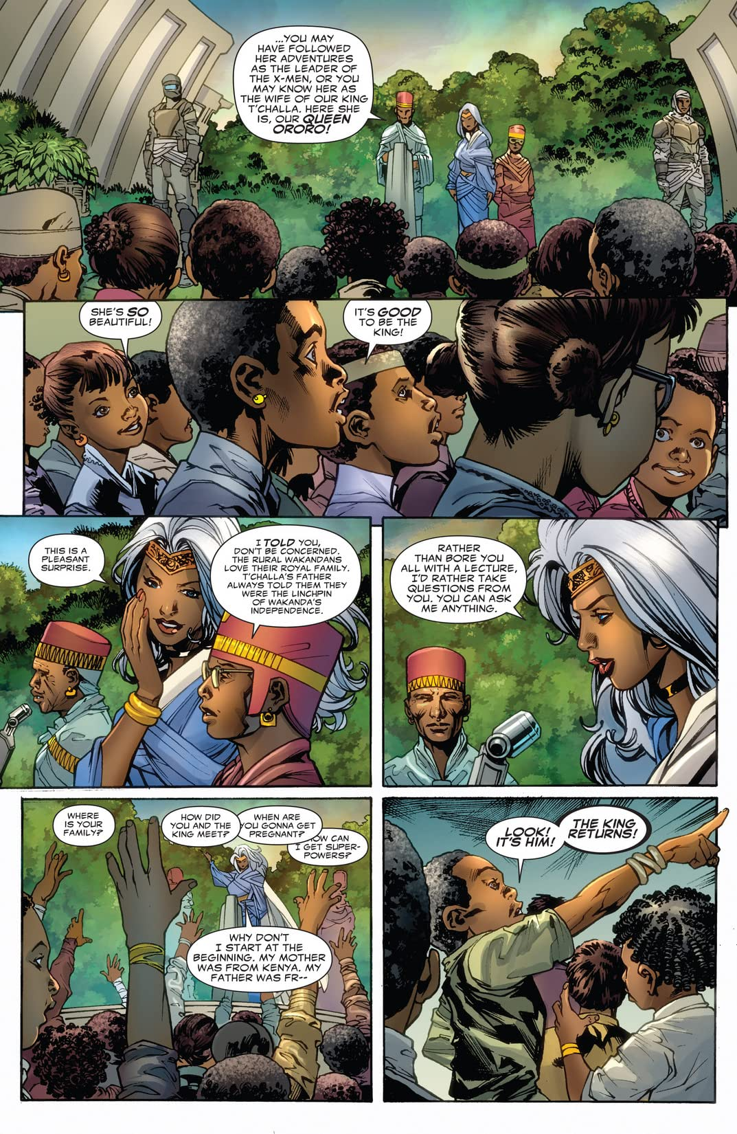 Black Panther (2008-2010) #1