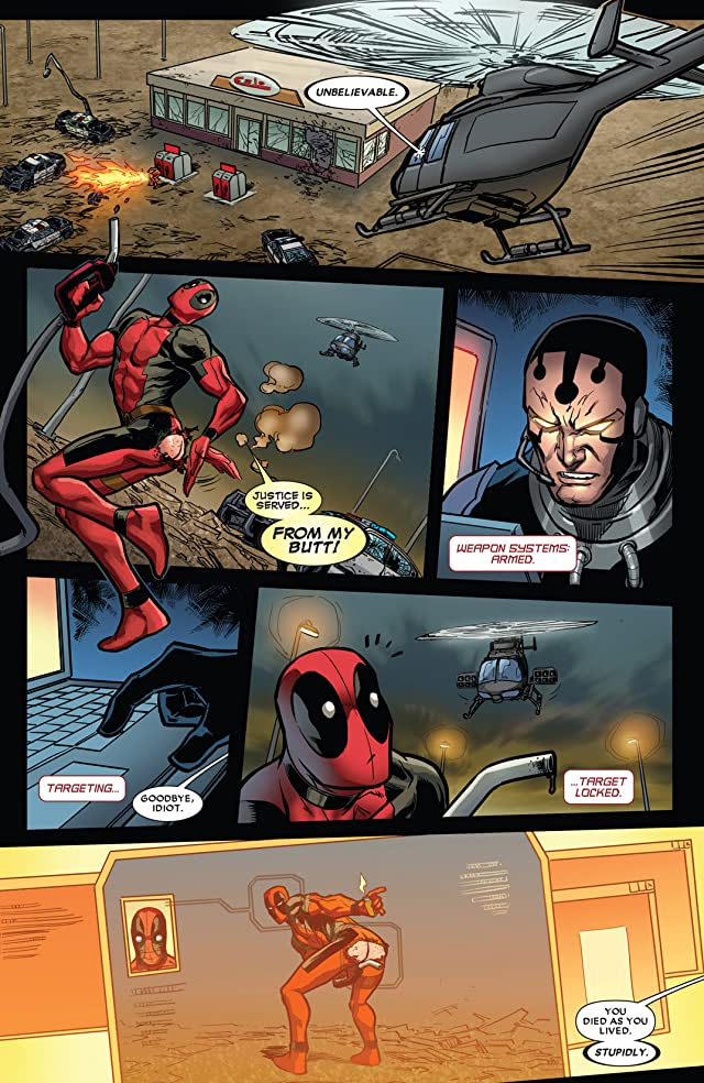 click for super-sized previews of Deadpool (2008-2012) #60