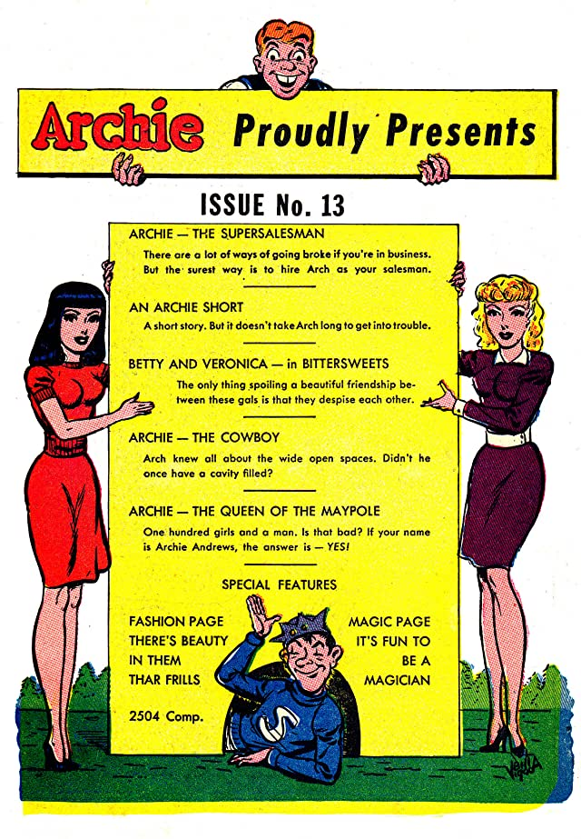 click for super-sized previews of Archie #13