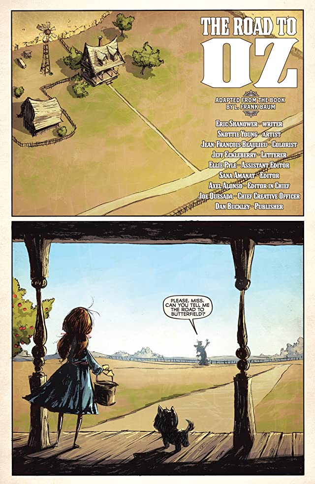 click for super-sized previews of Road To Oz #1