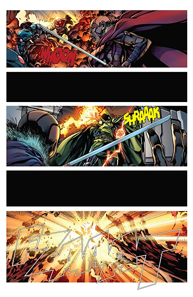 click for super-sized previews of Black Panther (2008-2010) #3