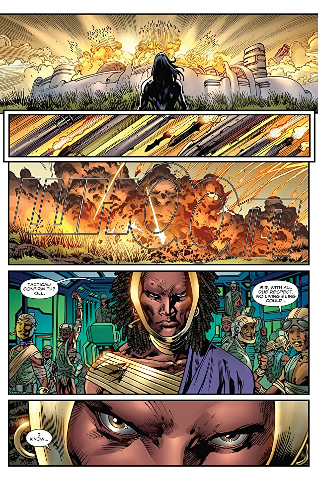 click for super-sized previews of Black Panther (2008-2010) #5