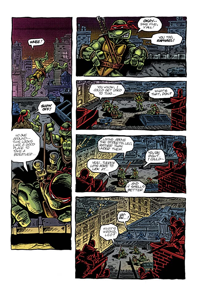 click for super-sized previews of Teenage Mutant Ninja Turtles: Color Classics #4