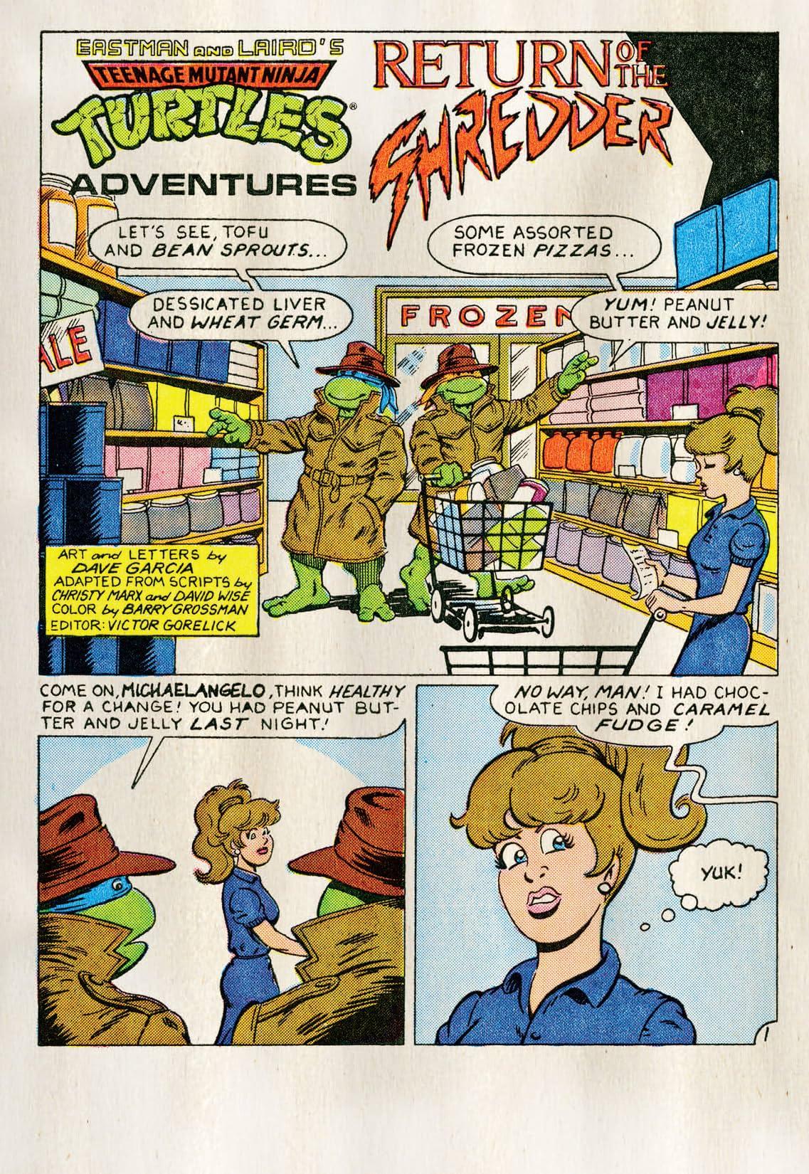 Teenage Mutant Ninja Turtles Adventures Vol. 1