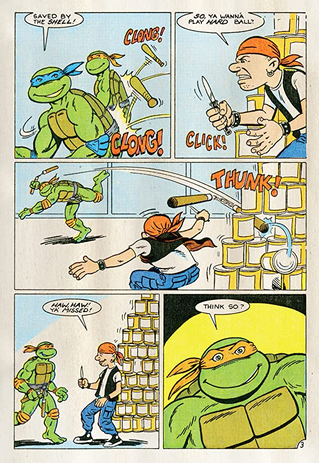 click for super-sized previews of Teenage Mutant Ninja Turtles Adventures Vol. 1