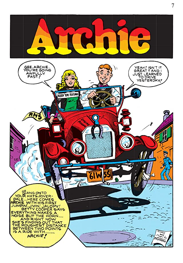 click for super-sized previews of The Best of Archie Comics Vol. 2
