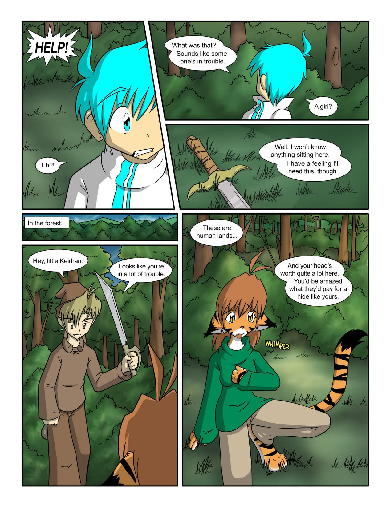 Twokinds Vol. 1