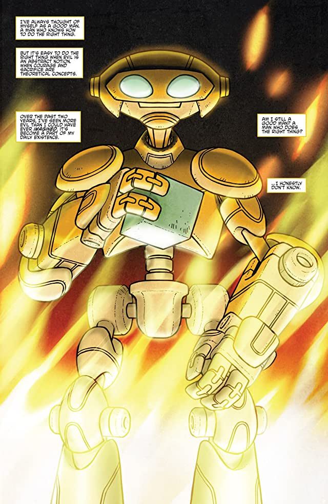 click for super-sized previews of Teenage Mutant Ninja Turtles Micro Series #8: Fugitoid