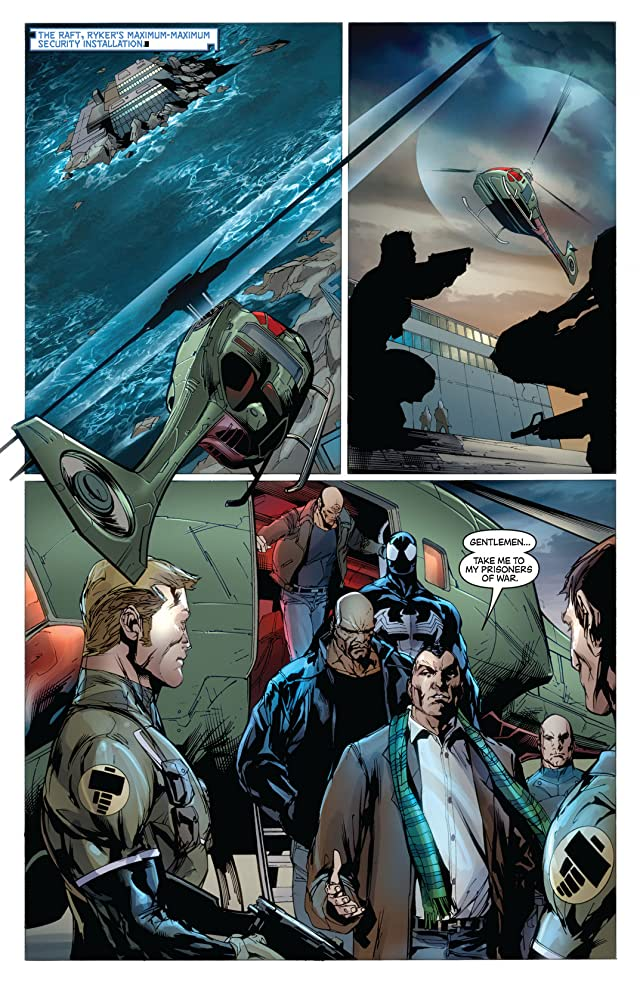 click for super-sized previews of New Avengers (2004-2010) #49