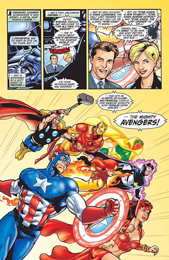 click for super-sized previews of Avengers (1998-2004) #0