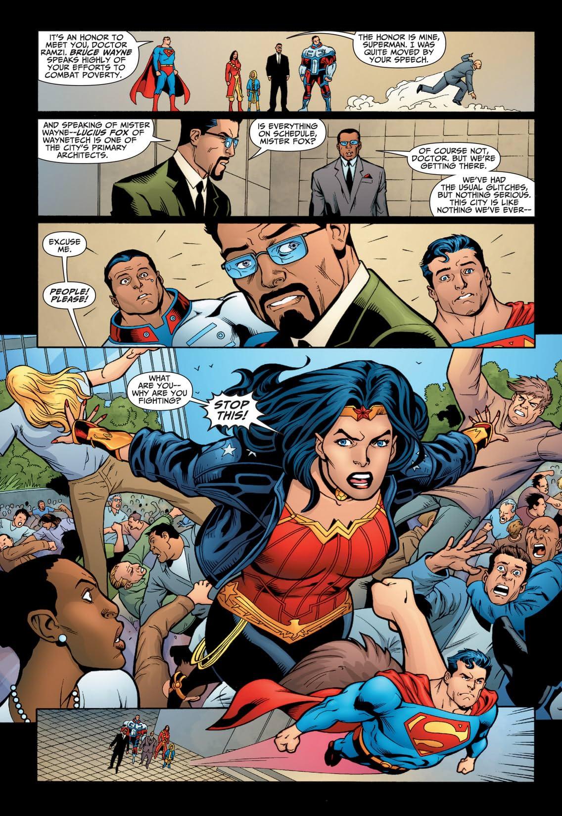 JLA: The 99 #1 (of 6)