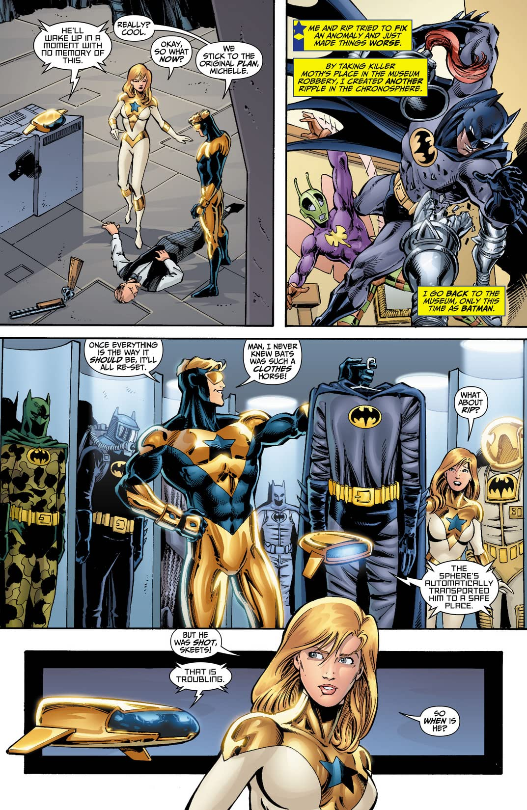 Booster Gold (2007-2011) #12