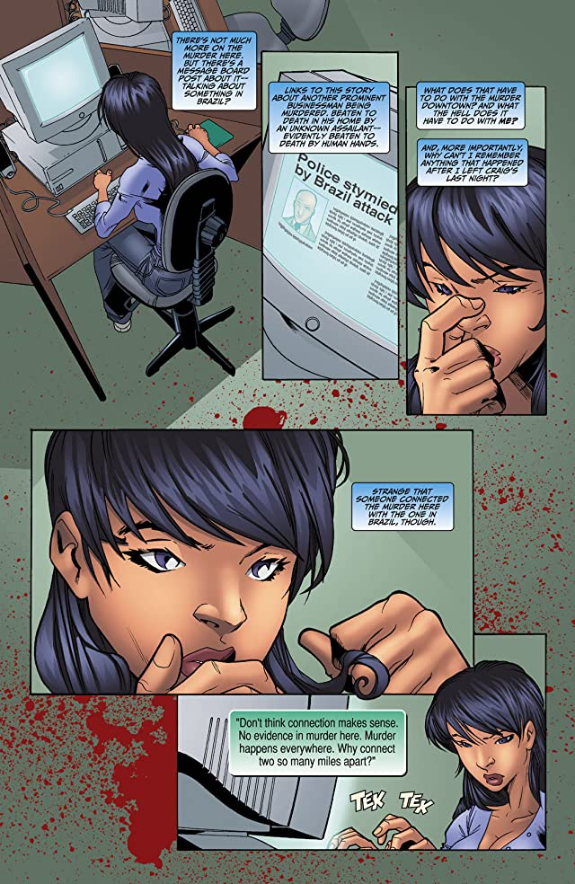 click for super-sized previews of Casey Blue: Beyond Tomorrow #2