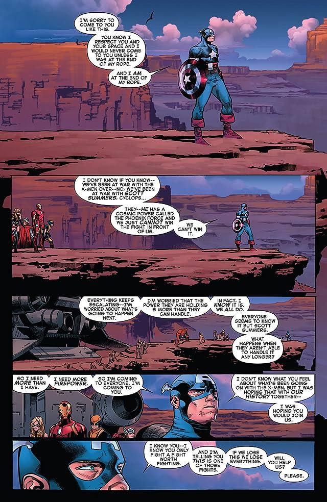 click for super-sized previews of Avengers vs. X-Men #11