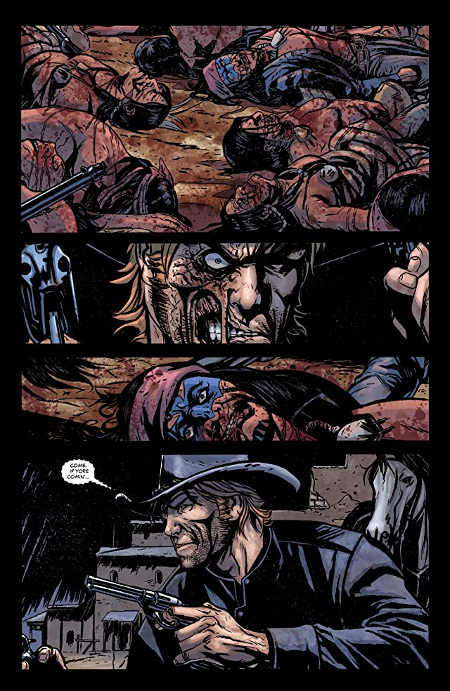 click for super-sized previews of Jonah Hex (2006-2011) #48