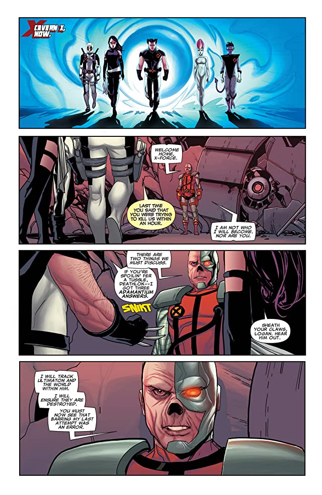 click for super-sized previews of Uncanny X-Force (2010-2012) #31